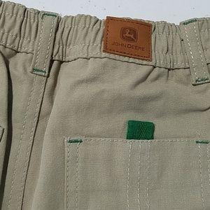 John Deere Bottoms - John Deere tractor boys Khaki pants 3T elastic